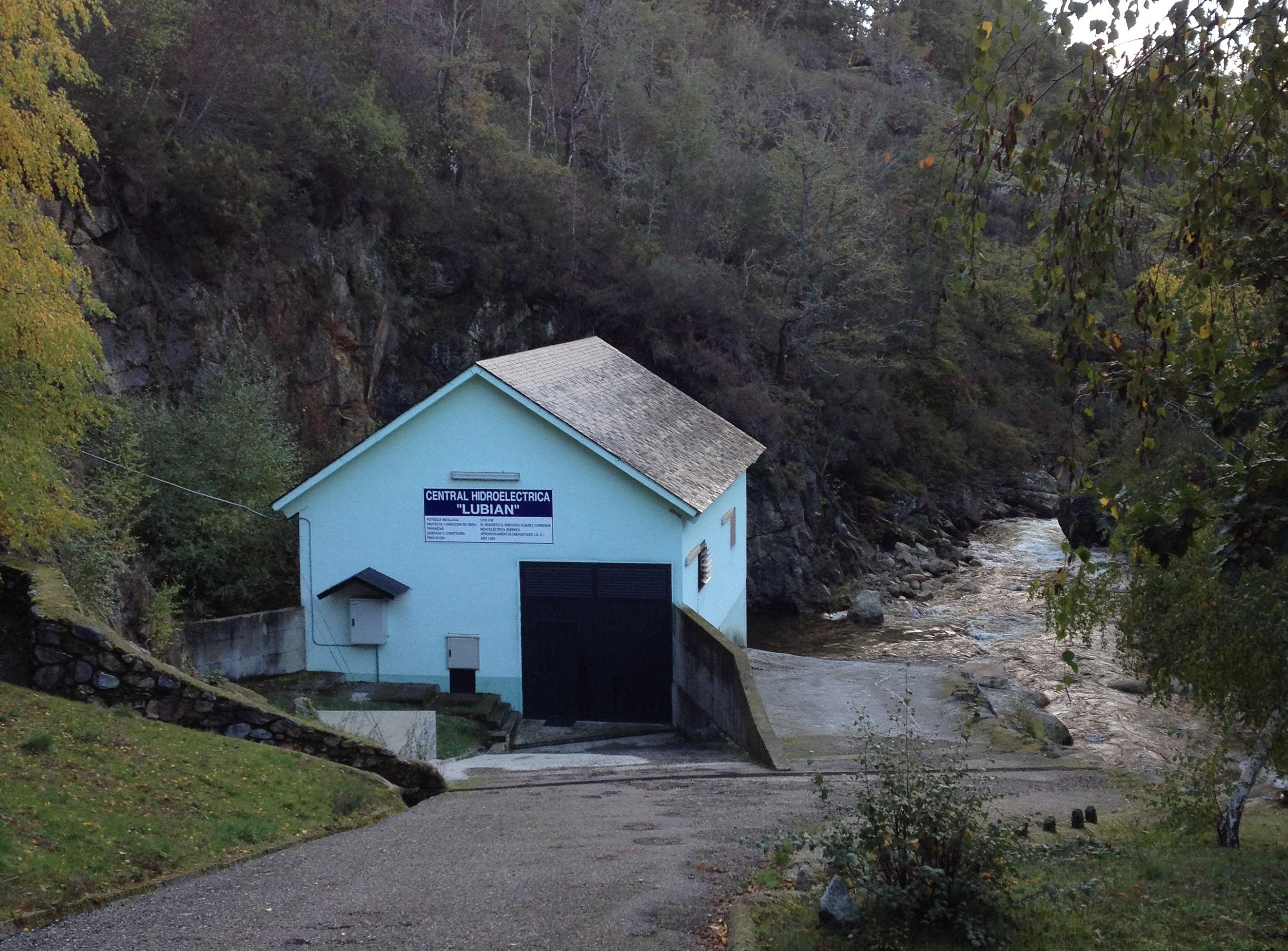 Central Hidroeléctrica Lubián