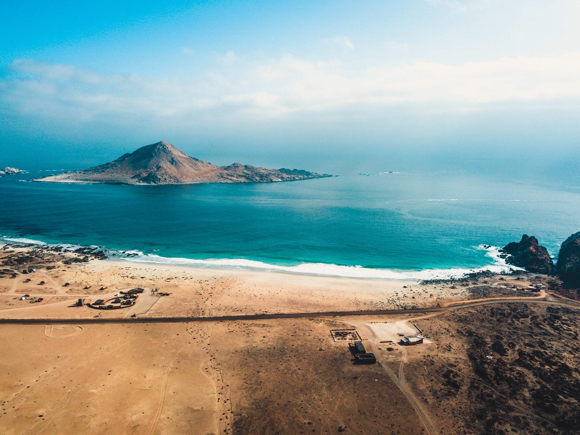 Comprometidos con la calidad del agua de Isla Chañaral